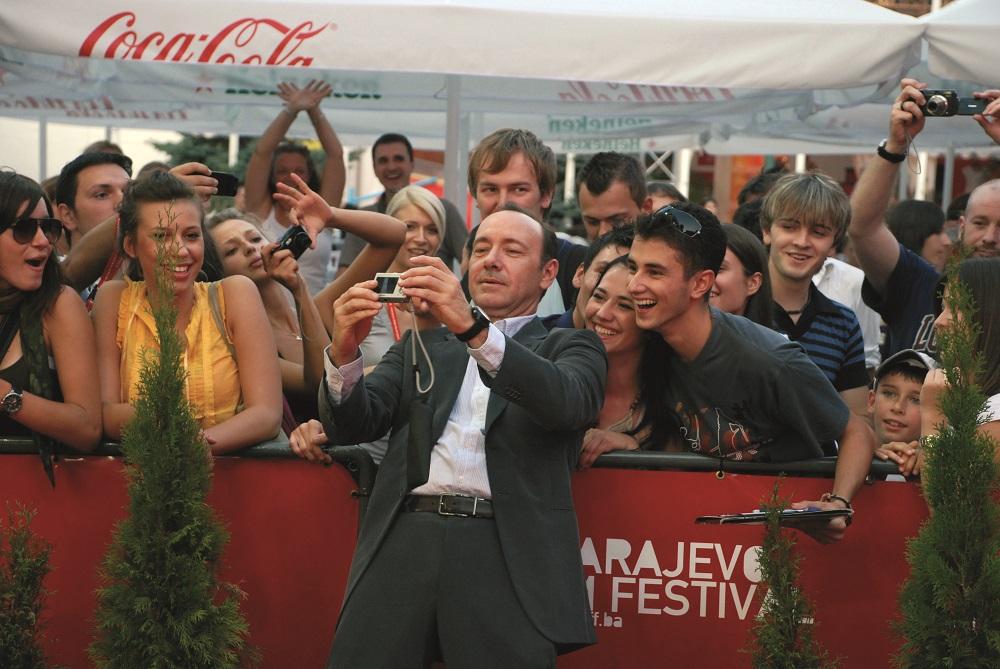 Slikovni rezultat za sarajevo film festival kevin spacey