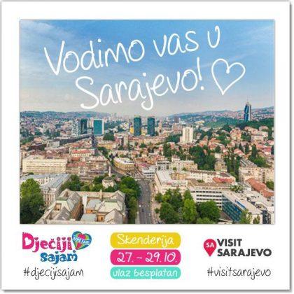 Spremite se, vodimo vas u Sarajevo na 4. Dječiji sajam