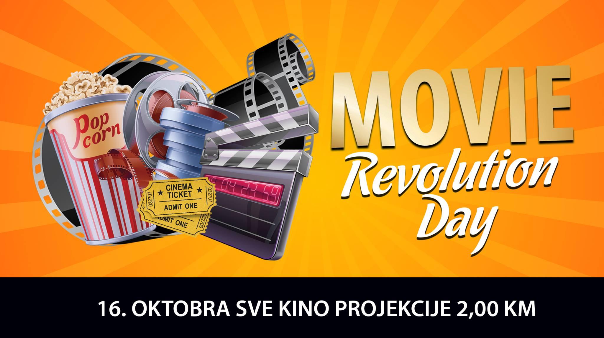 city slavi rođendan Cinema City slavi 9. rođendan: 16. oktobra Movie Revolution Day  city slavi rođendan