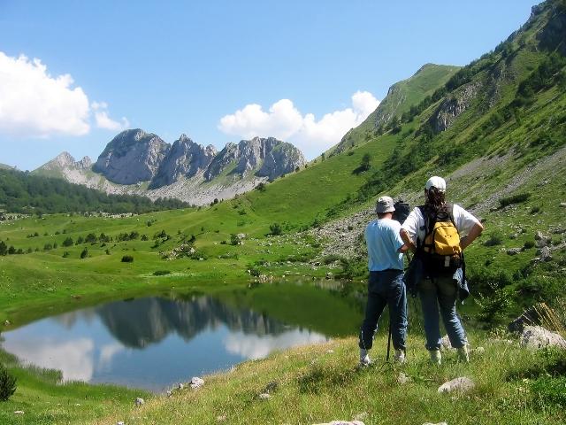 Jezero Gornje Bare, Zelengora